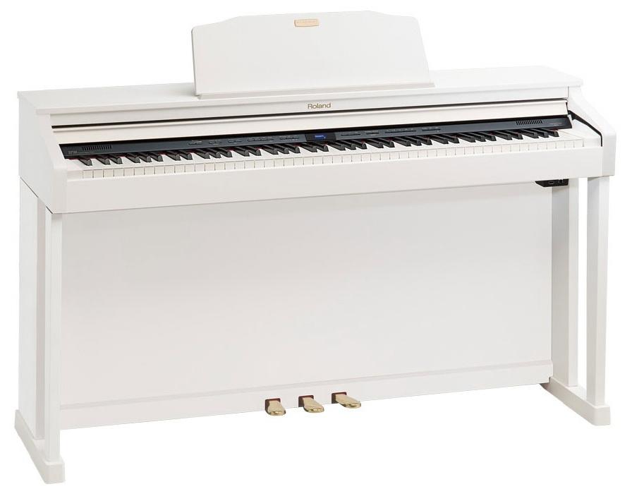 Цифровое пианино Roland HP504-WH: фото