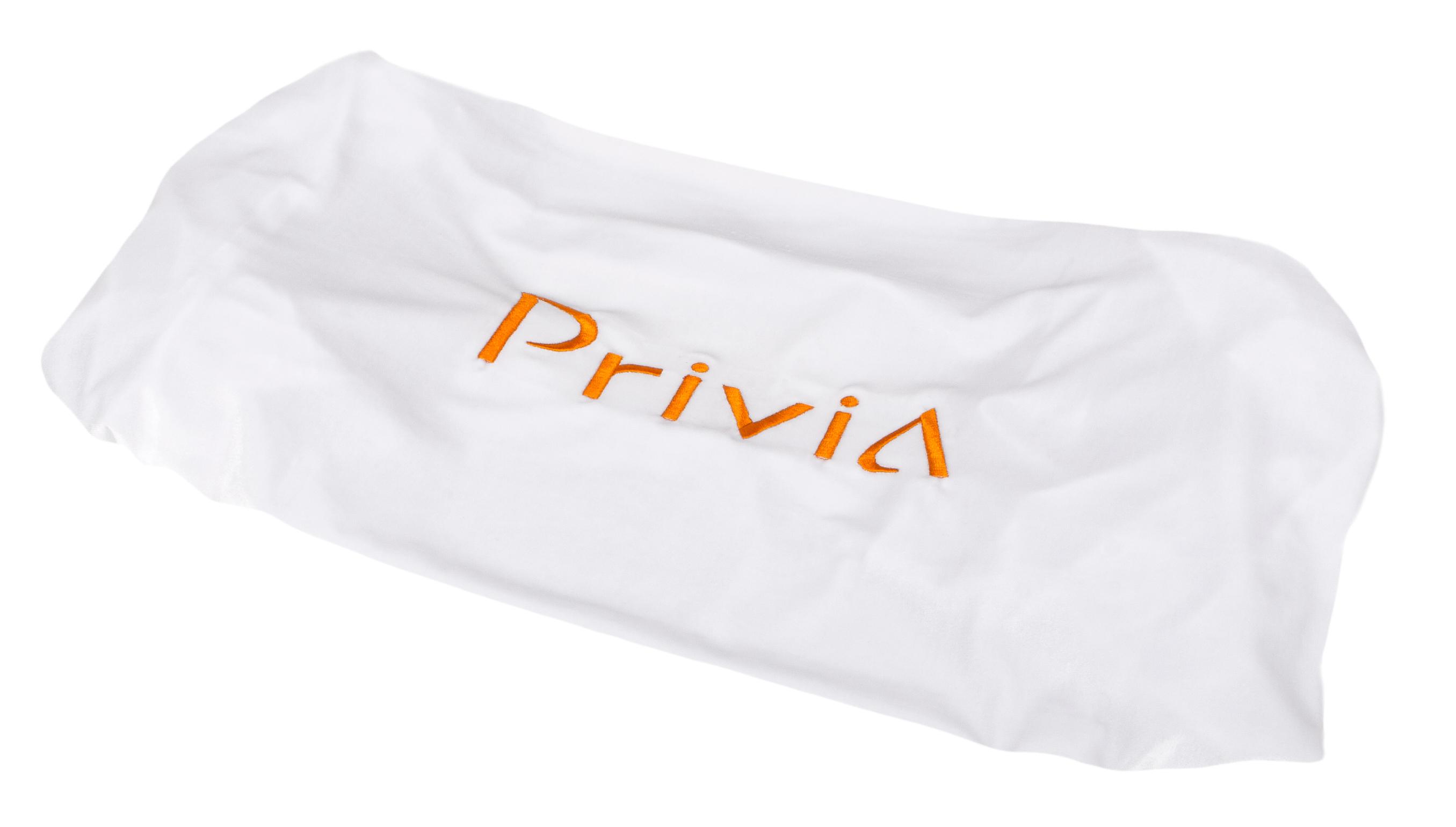 Накидка для Privia бархатная белая: фото
